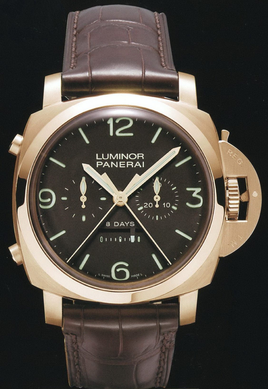 часы Panerai 2009 Special Edition Luminor 1950 8 Days Rattrapante