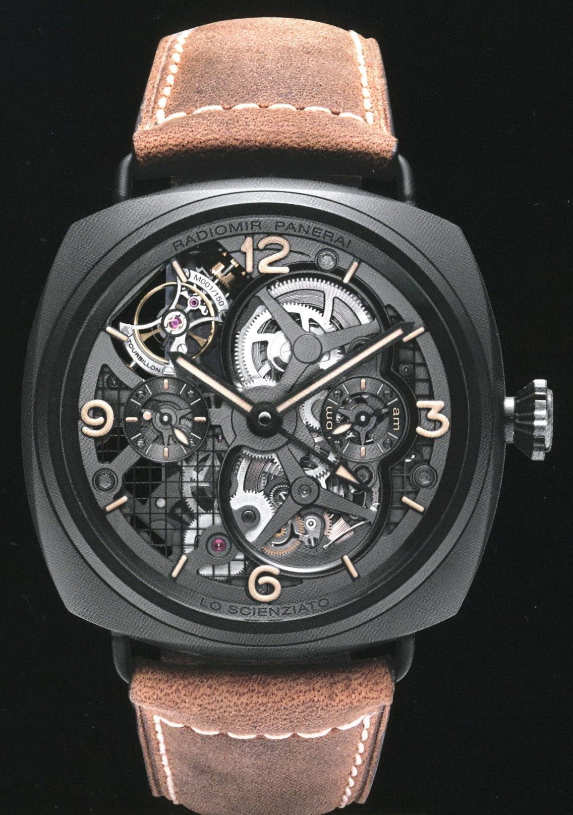 часы Panerai 2010 Special Edition Radiomir Tourbilon GMT Ceramica