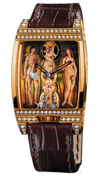 часы Corum Golden Bridge Adam et Eve
