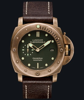 часы Panerai 2011 Special Edition Luminor Submersible 1950 3 Days Automatic Bronzo