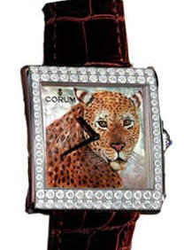 часы Corum Artisan Timepieces Buckingham Wild Cat