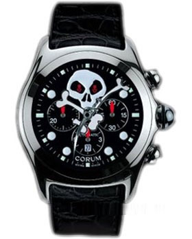 часы Corum Bubble Jolly Roger Chronograph