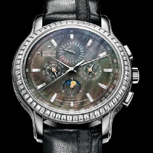 часы Zenith Zenith Academy Quantieme Perpetuel Black Tie
