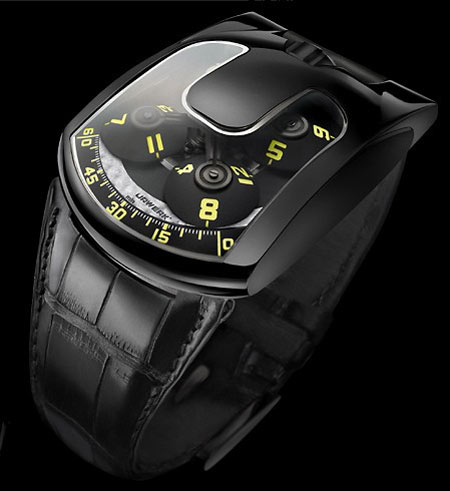 ���� Urwerk UR 103.08 Black Bird