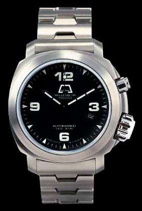 часы Anonimo Millemetri Polluce steel bracelet