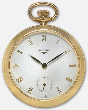 часы Longines Longines Francillon 18k Gold Pocket Watch