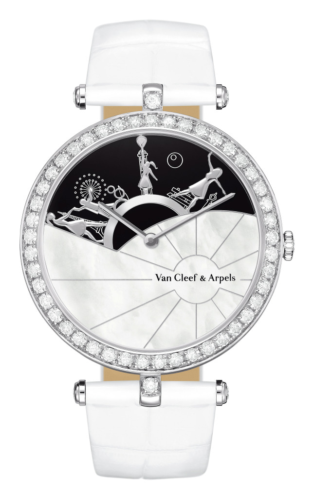 часы Van Cleef & Arpels Journee a Paris