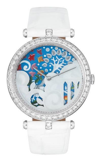часы Van Cleef & Arpels Jardin Italien de la Renaissance