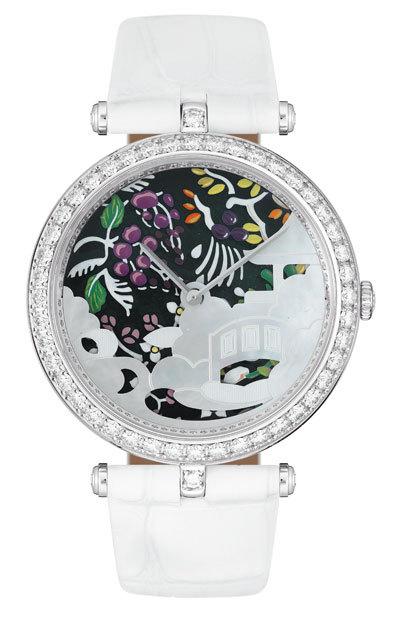 часы Van Cleef & Arpels Jardin d'Extrême-Orient