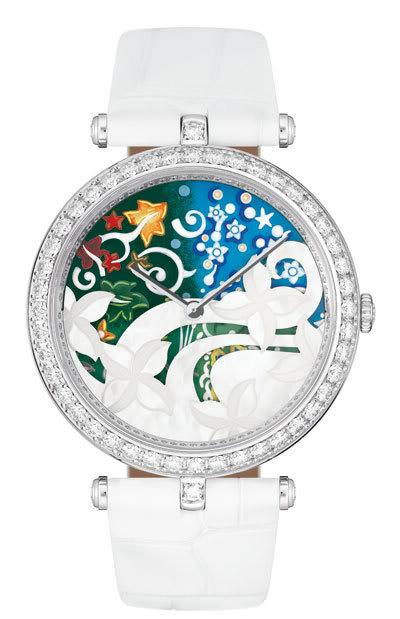 часы Van Cleef & Arpels Jardin romantique Anglais