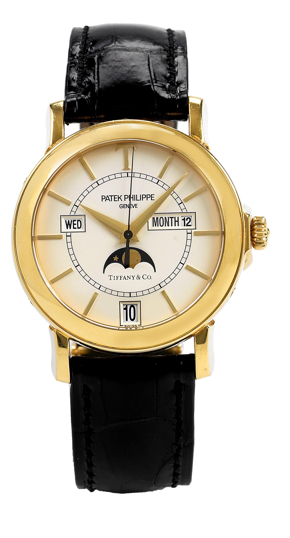часы Patek Philippe Annual Calendar Tiffany