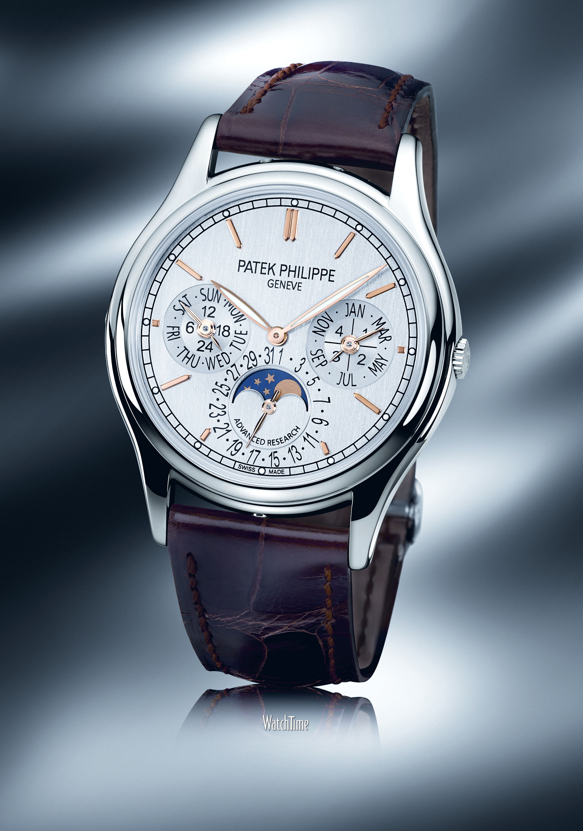 часы Patek Philippe Announces New GyromaxSi Balance and Updated Pulsomax Escapement