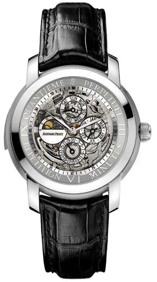 часы Audemars Piguet Jules Audemars Skeleton Minute Repeater Perpetual Calendar