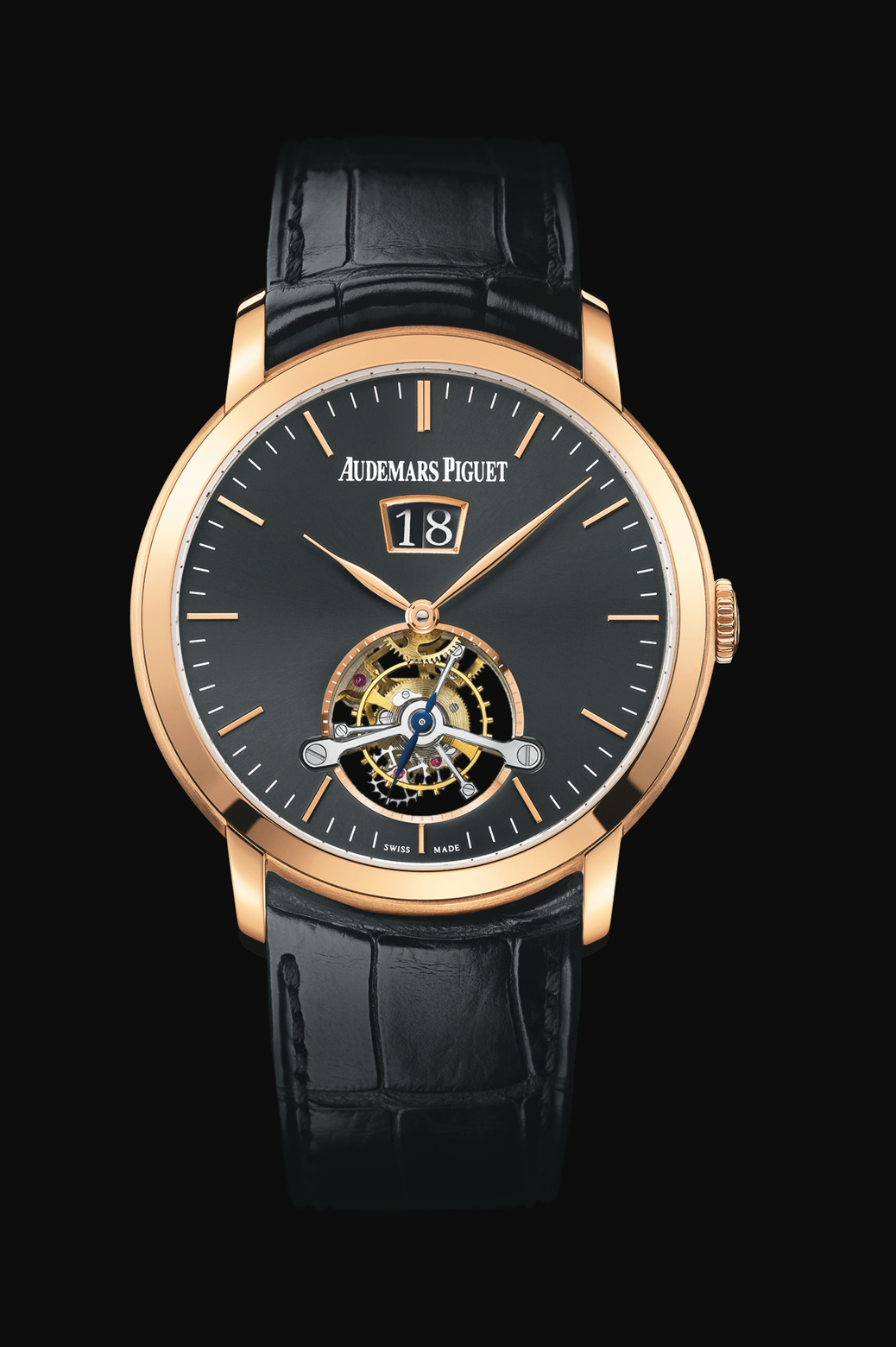 часы Audemars Piguet LARGE DATE TOURBILLON