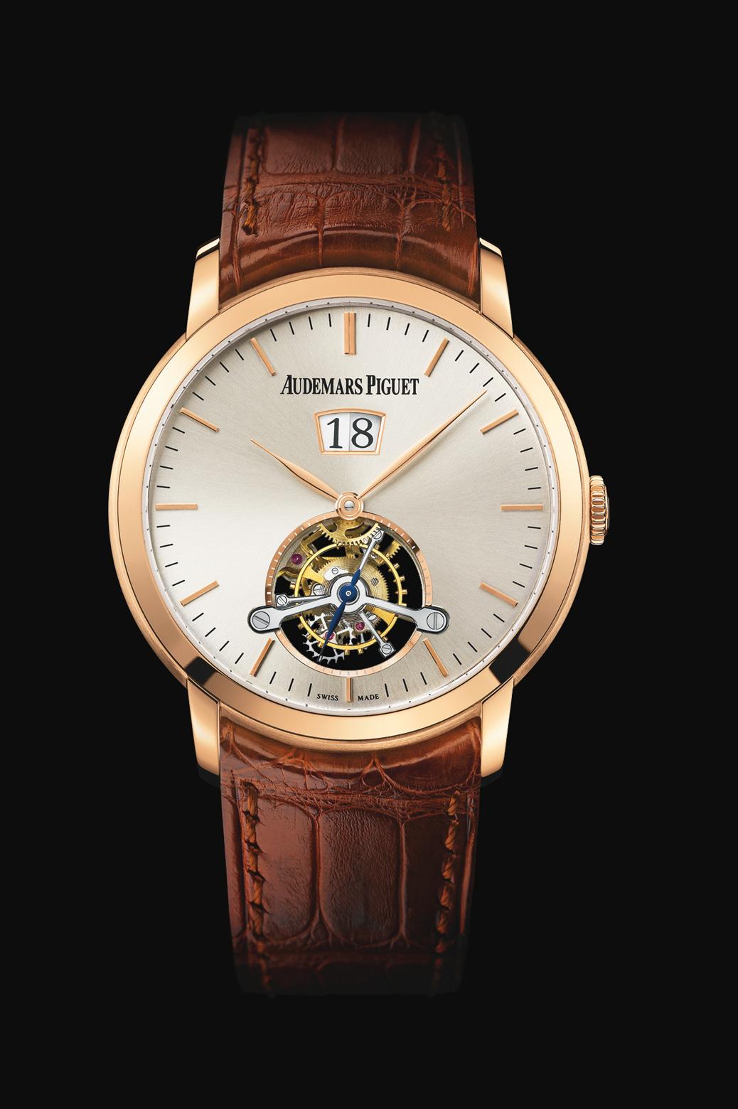 часы Audemars Piguet LARGE DATE TOURBILLON