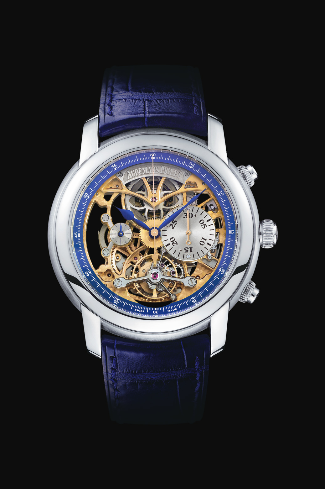 часы Audemars Piguet Skeleton Tourbillon Chronograph