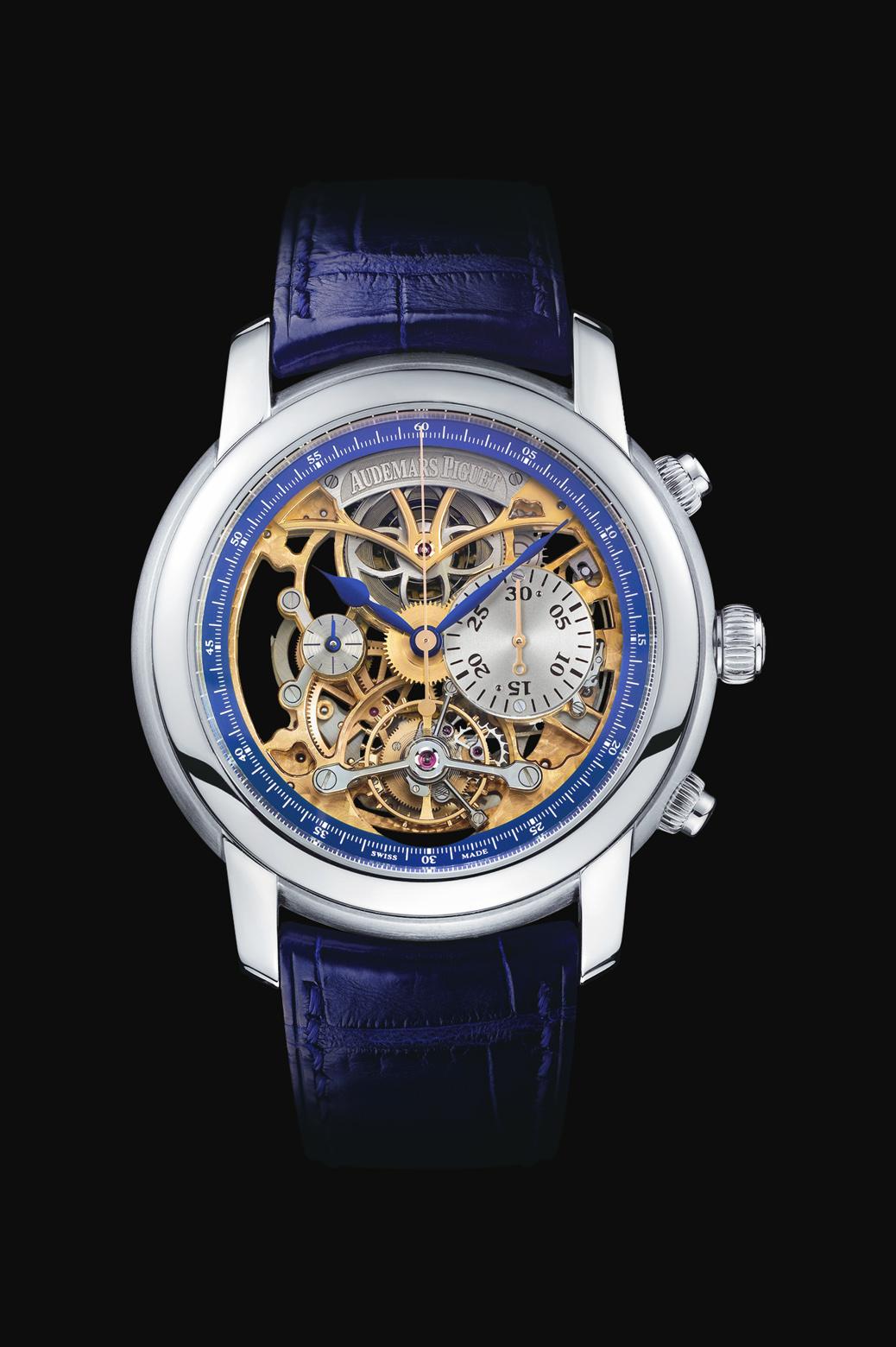 ���� Audemars Piguet Skeleton Tourbillon Chronograph