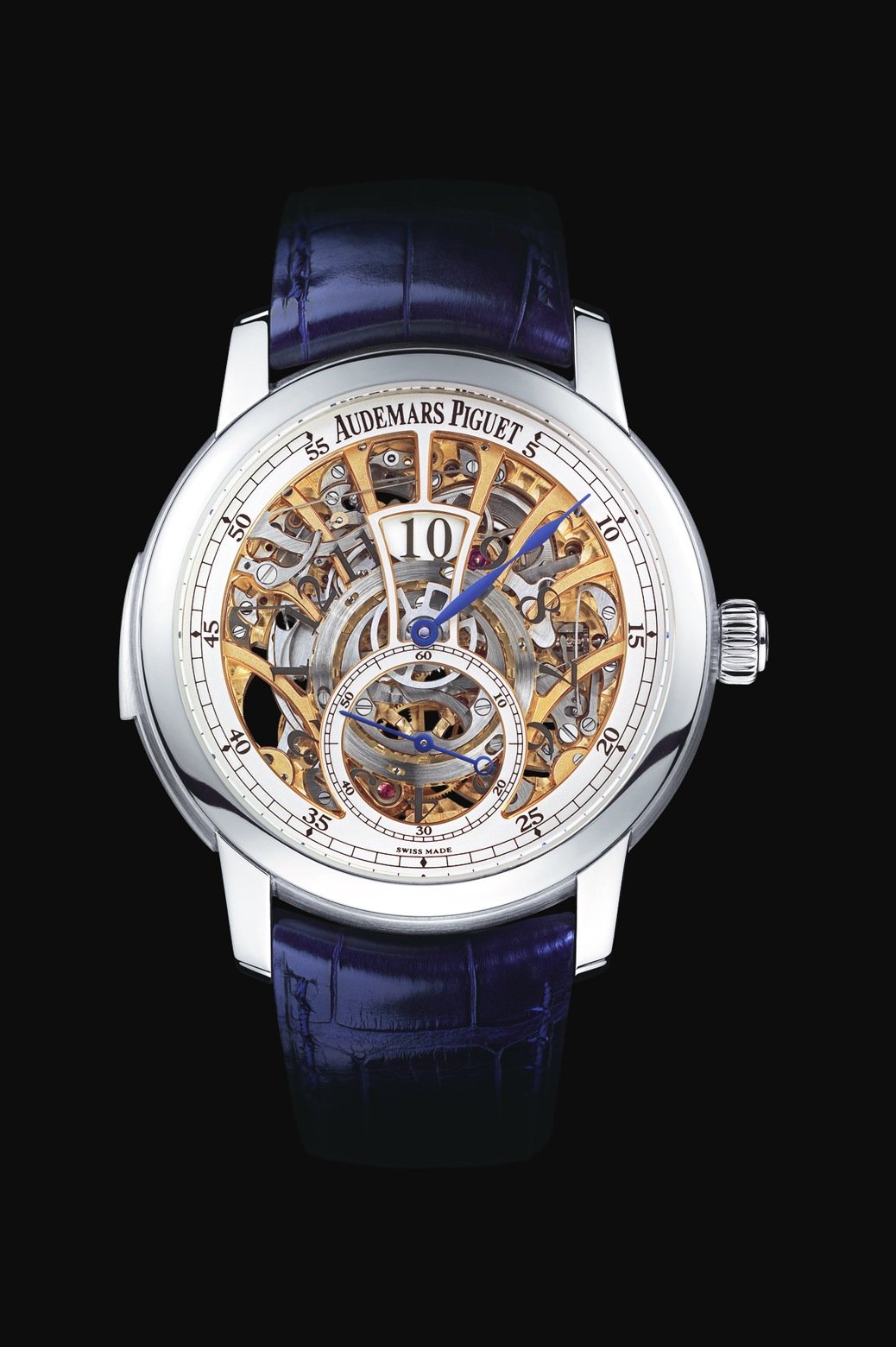 часы Audemars Piguet Skeleton Minute Repeater with Jumping Hour and Small Seconds