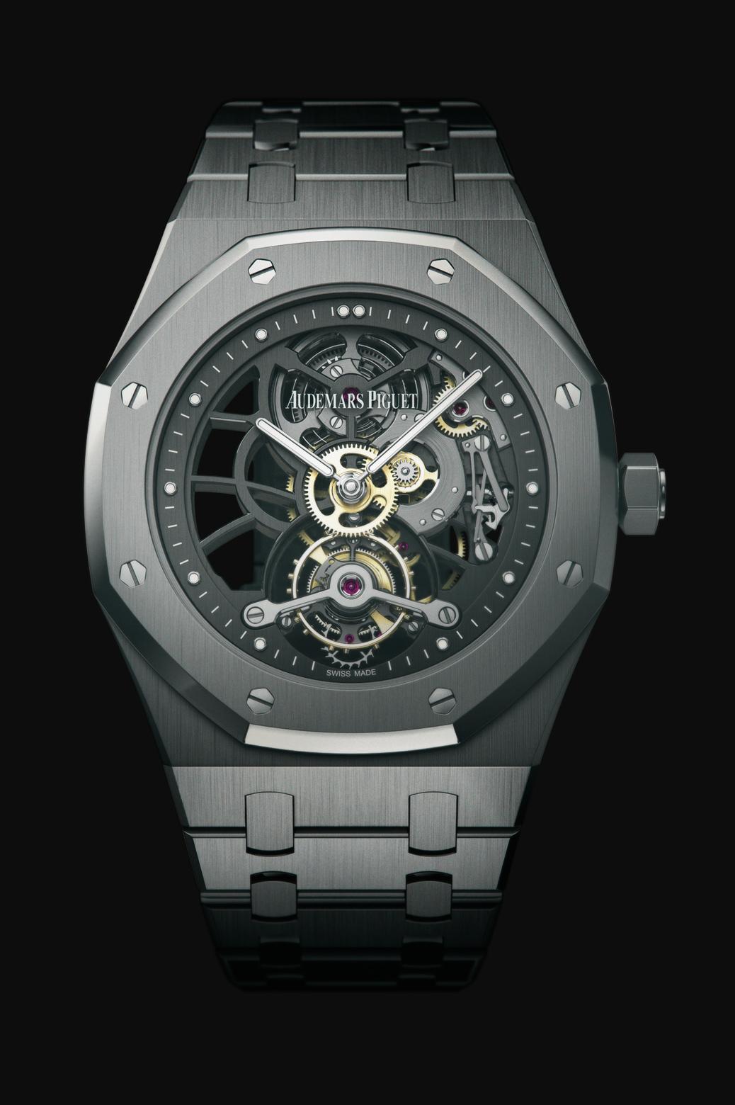 часы Audemars Piguet OPENWORKED EXTRA-THIN ROYAL OAK TOURBILLON