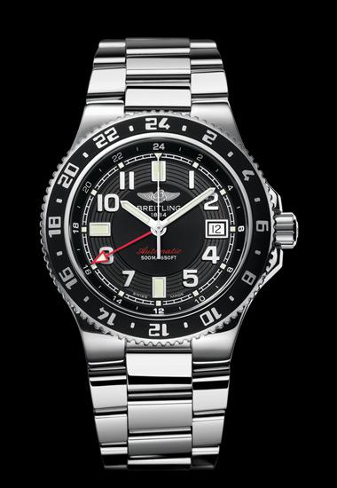 часы Breitling SUPEROCEAN GMT