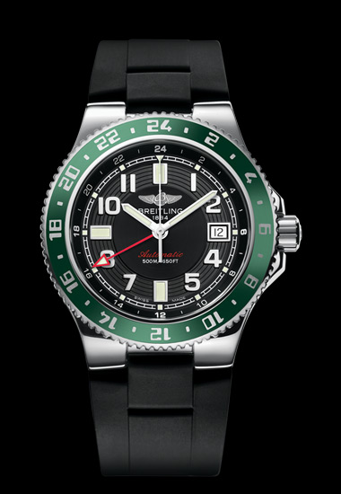 часы Breitling SUPEROCEAN GMT