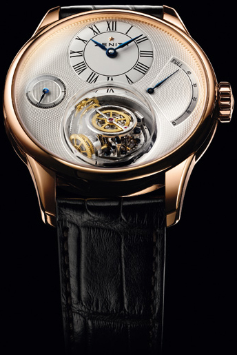 часы Zenith Christophe Colomb Rose Gold