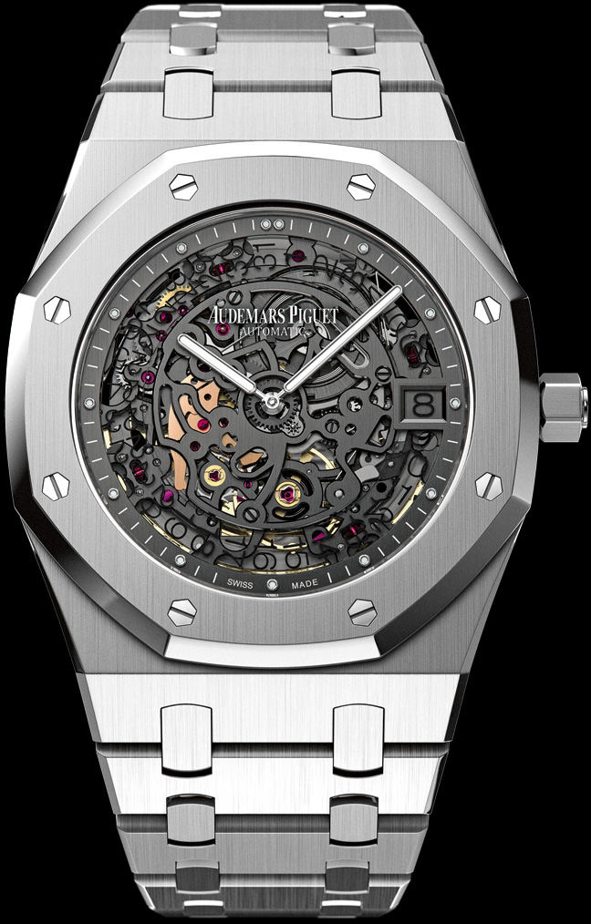 часы Audemars Piguet Openwork Extra-Thin Royal Oak 40th Anniversary