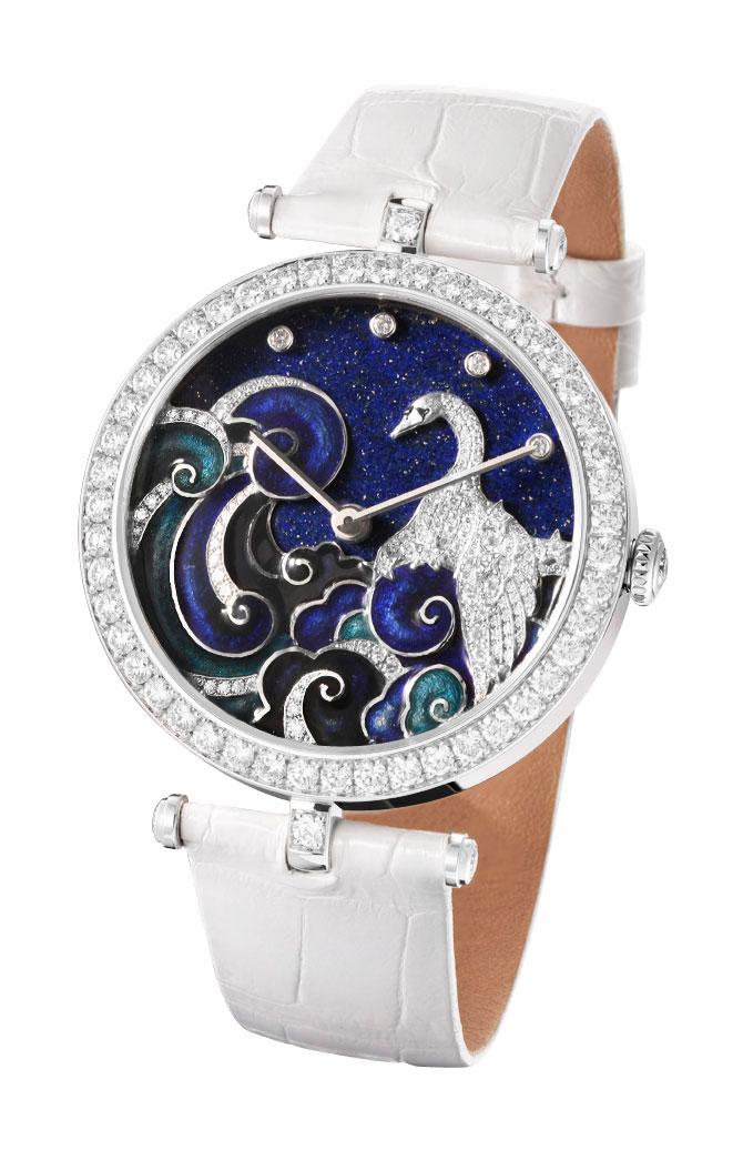 часы Van Cleef & Arpels Lady Arpels Cygnus