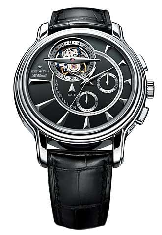 часы Zenith Grande Chronomaster XXT Tourbillon