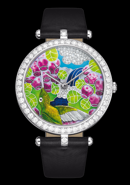 часы Van Cleef & Arpels Extraordinary Hummingbirds