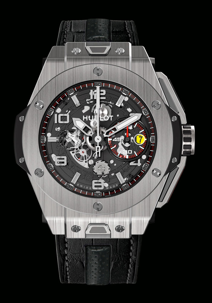 часы Hublot Big Bang Ferrari Titanium