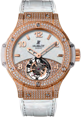часы Hublot Big Bang Tutti Frutti Tourbillon