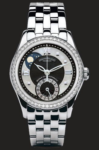 часы Armand Nicolet Moonphase & Date