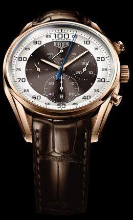 часы TAG Heuer Carrera Mikrograph 1/100th