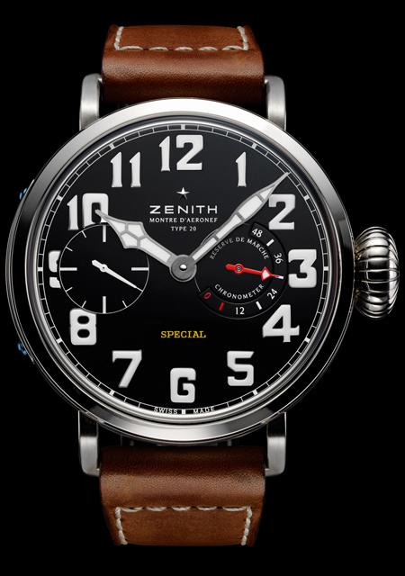 часы Zenith Pilot Montre d'Aeronef Type 20