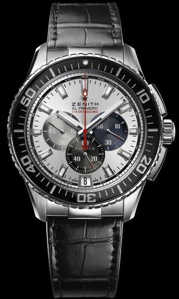 часы Zenith El Primero Stratos Flyback Striking