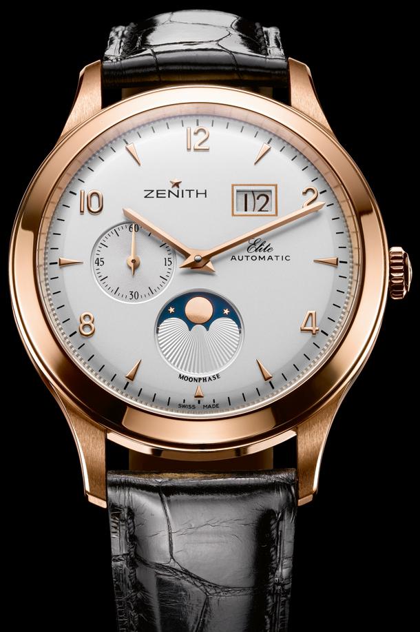 часы Zenith Elite Moonphase Grande Date