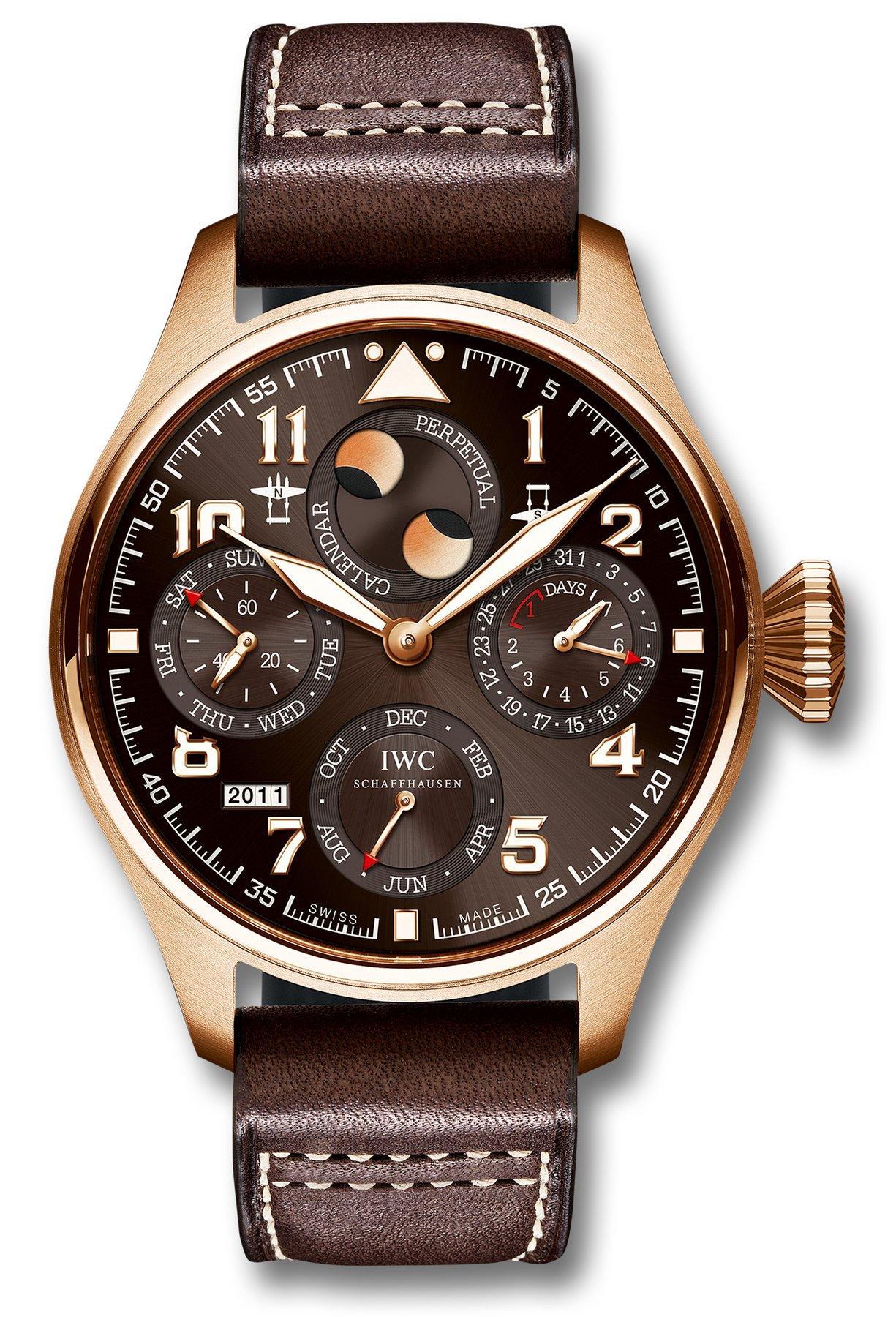 часы IWC IWC Big Pilots Watch Perpetual Calendar Edition Antoine De Saint Exupery