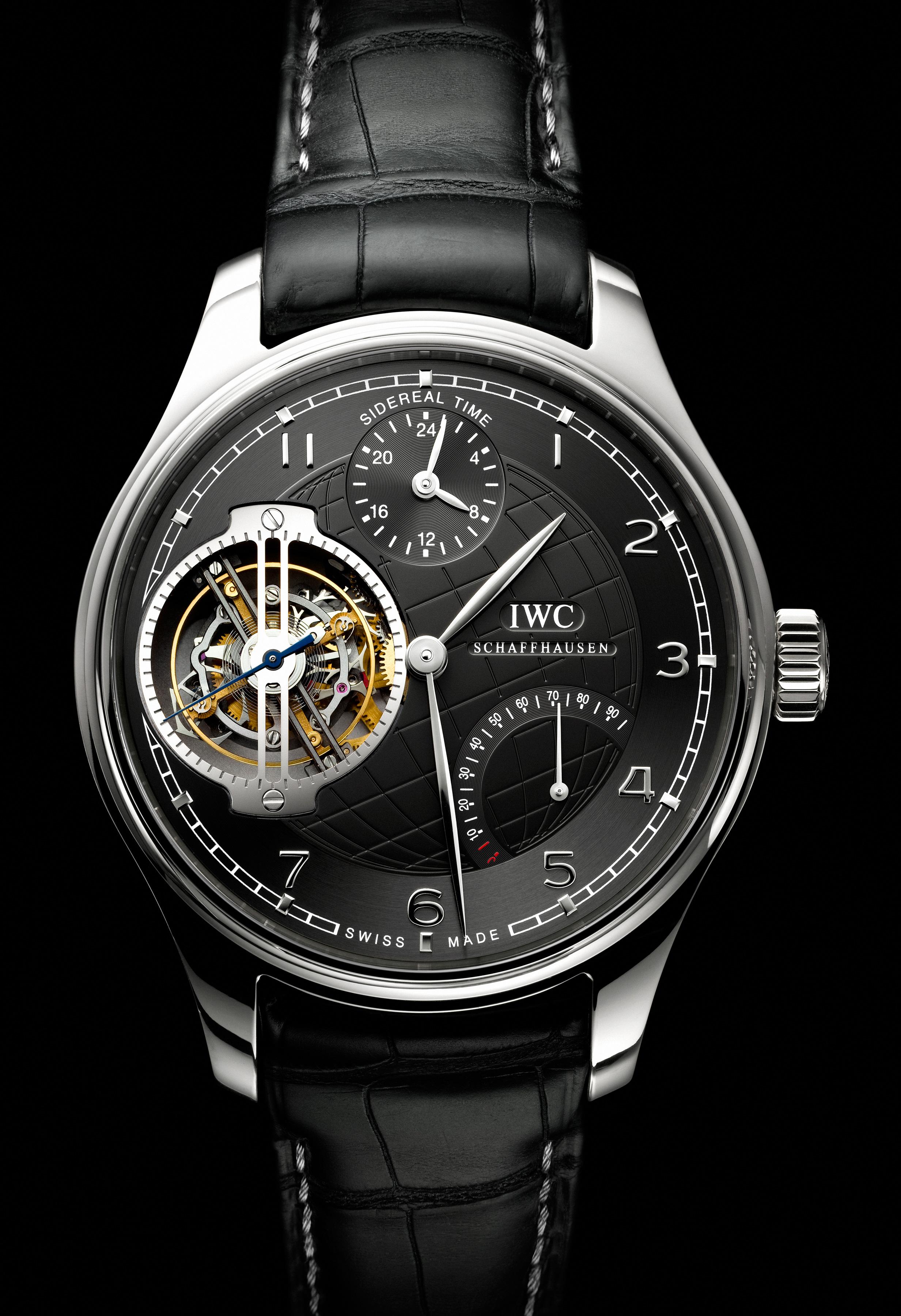 часы IWC Portuguese Sidérale Scafusia