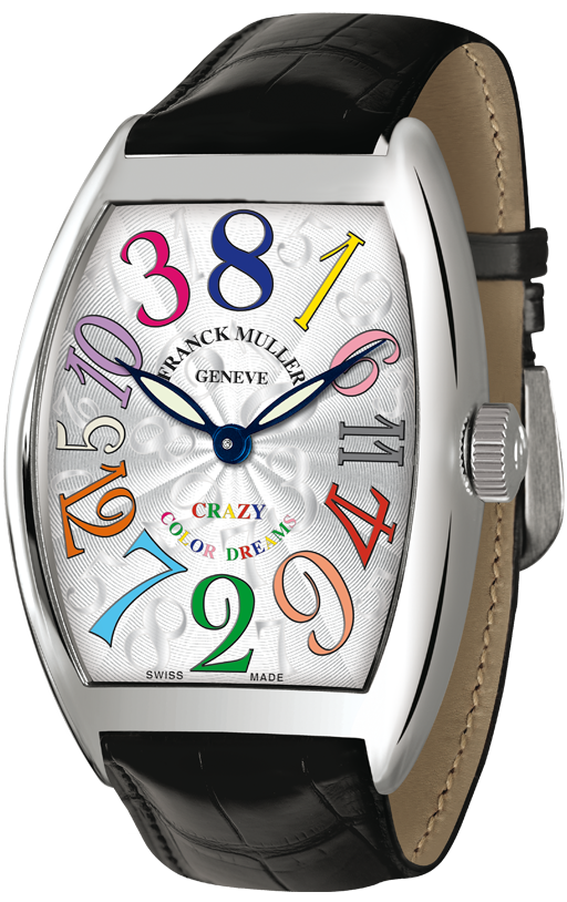 часы Franck Muller Crazy Hours