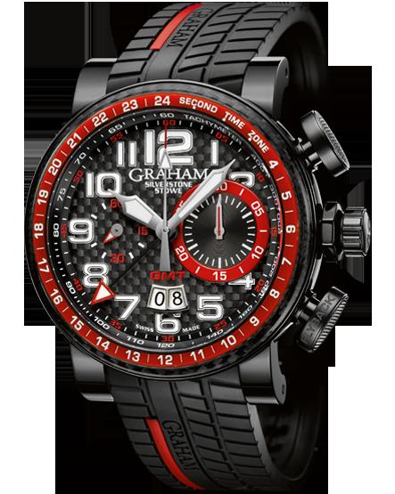 часы Graham Silverstone Stowe GMT Red