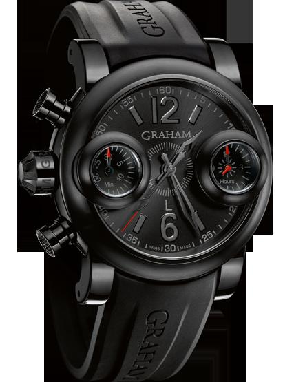 часы Graham Booster Black