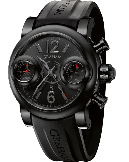 часы Graham Booster Black