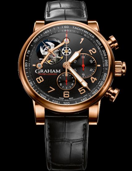 часы Graham Silverstone Tourbillograph