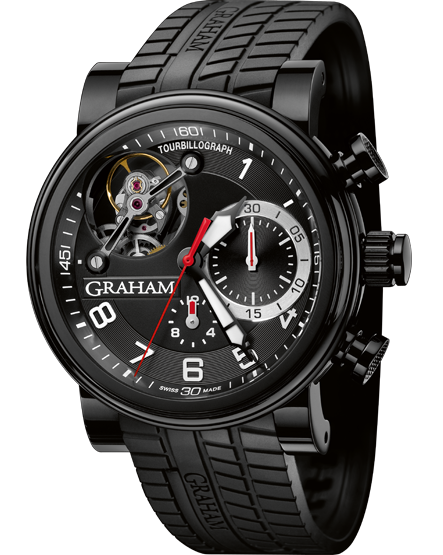 часы Graham Trackmaster Black