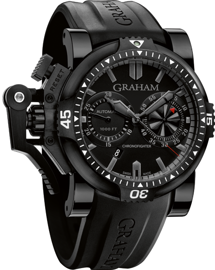 ���� Graham Chronofighter Oversize DIVER TURBO