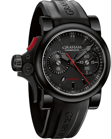 часы Graham Chronofighter Trigger Back