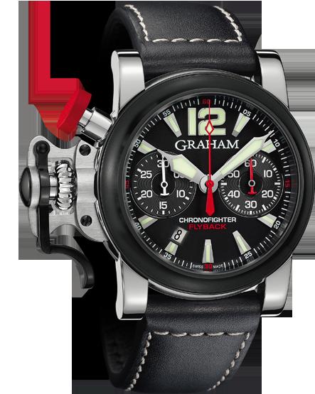 часы Graham Chronofighter R.A.C. Black Shock