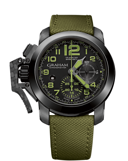 часы Graham CHRONOFIGHTER OVERSIZE AMAZONIA GREEN