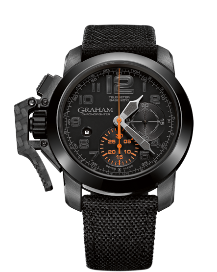 ���� Graham CHRONOFIGHTER OVERSIZE BLACK FOREST